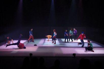 troupe de danseurs