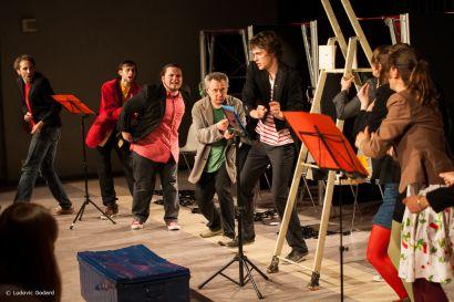 Photo de la pièce Langages