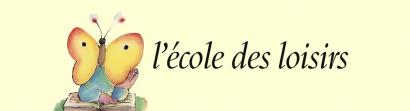 Visuel avec le logo de l'École des loisirs