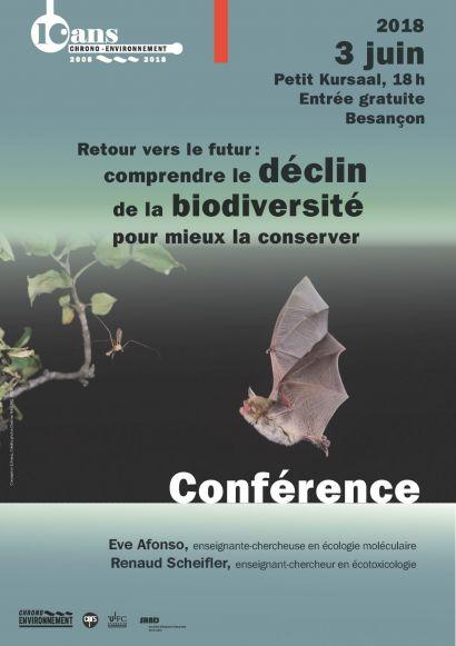 Affiche conférence biodiversité