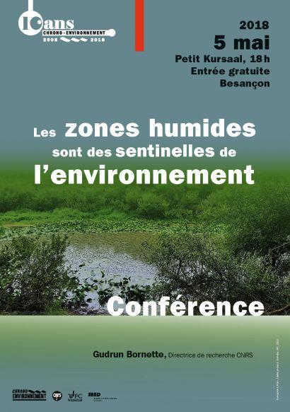 Affiche conférence zones humides