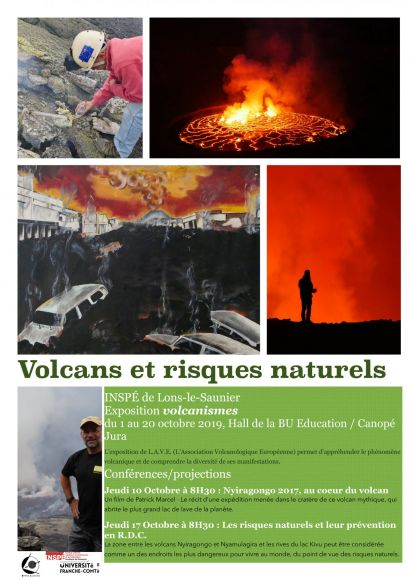 "Exposition ""volcanismes"""