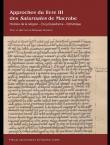 Approches du livre III des Saturnales de Macrobe