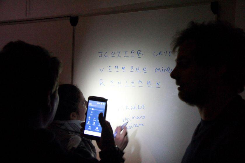 """Un escape game """"sécu'RT"""" au département Réseaux et Télécommunications pour l'anniversaire de l'IUT"""