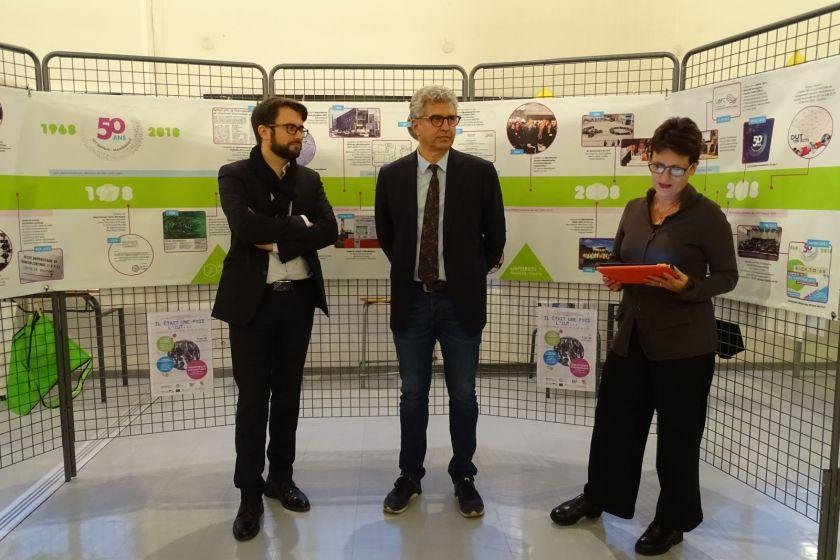 Clôture des 50 ans de l'IUT avec une expo historique à la BU de Montbéliard