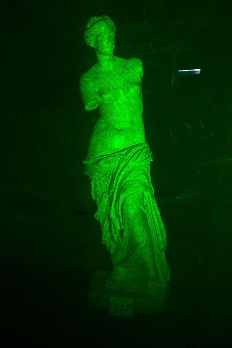 Hologramme de la Vénus de Milo