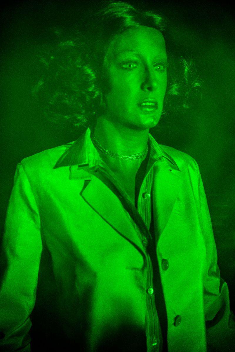 Hologramme d'un mannequin.