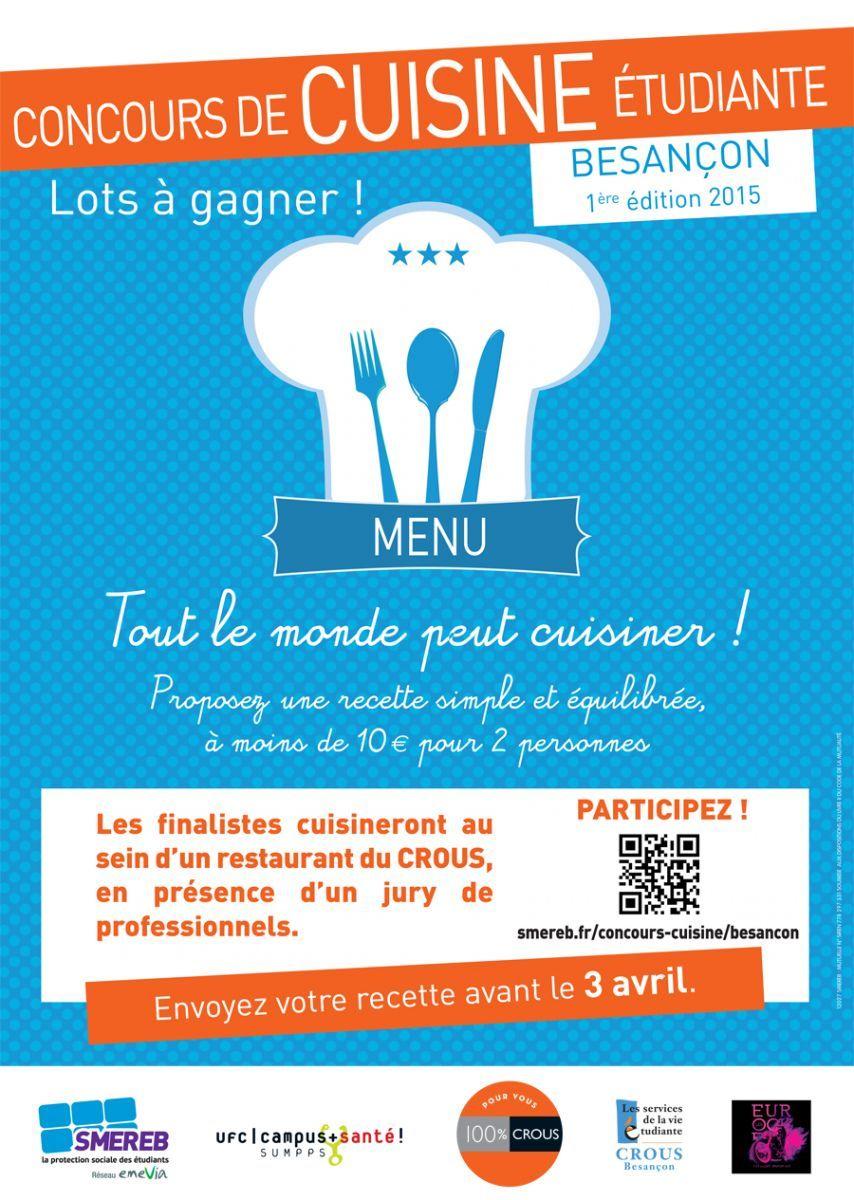 concours de cuisine étudiante | l'actu de l'université de franche