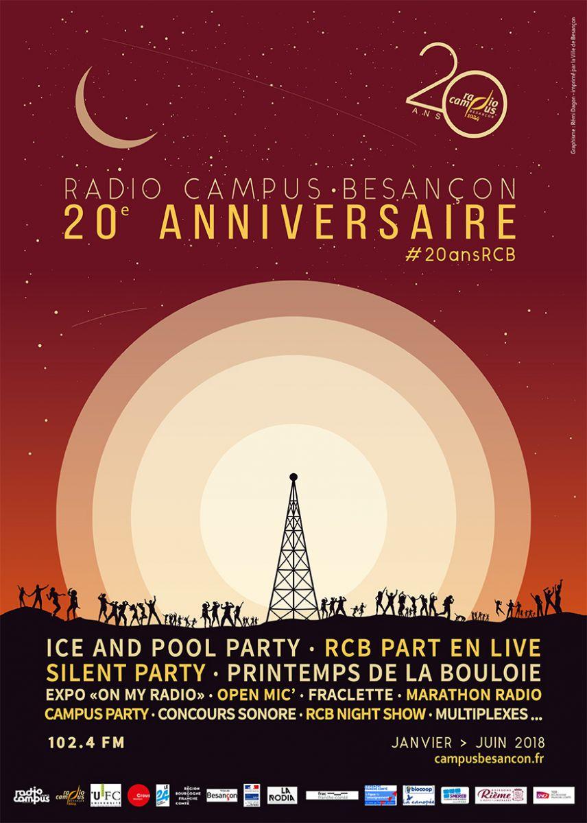 Radio Campus Besancon Fete Ses 20 Ans L Actu De L Universite De