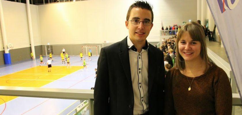Ludovic Poignant, chef de projet, et Lucille Marques, chargée du développement des animations.