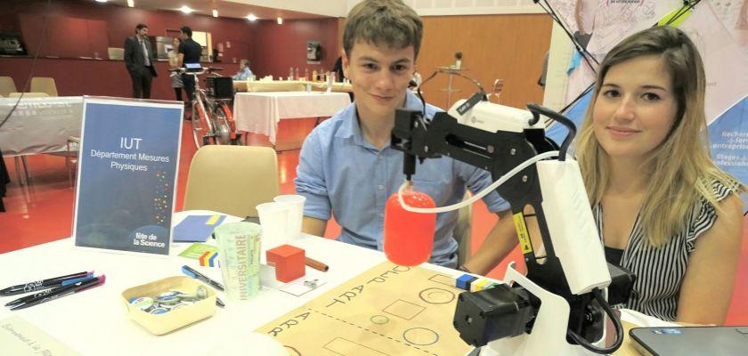 L'IUT de Belfort-Montbéliard fête la science
