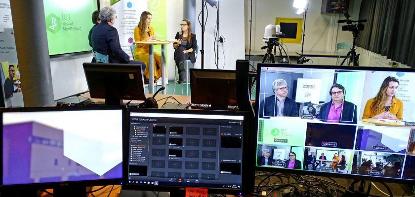 Dans les coulisses de la WebTV de l'IUT: 8 heures de direct pour la JPO