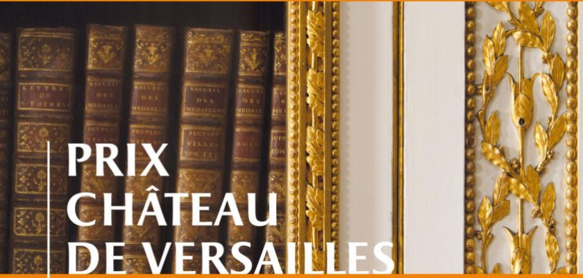 Affiche Prix château de Versailles du livre d'histoire 2020
