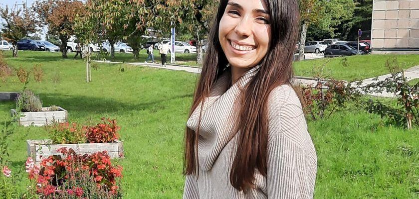 Clara foucher finaliste du 2e trophée de la femme Cyber, dans la catégorie « Étudiante à l'avenir prometteur ».