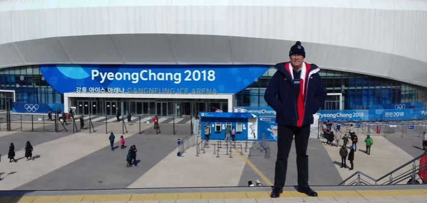 Eric Monnin Jeux Olympique de PyeongChang