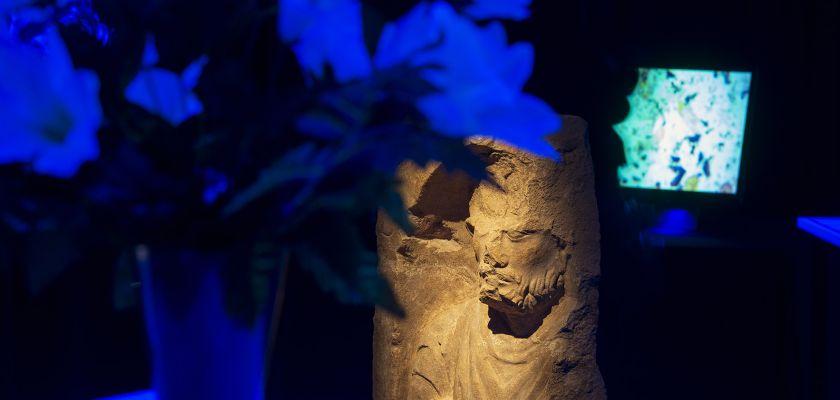 Expo MQT Stèle funéraire Musée des Beaux-Arts et d'Archéologie de Besançon
