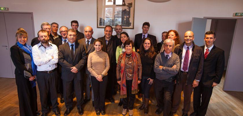 """Portrait dans le cadre du projet """"délégation brésilienne""""."""