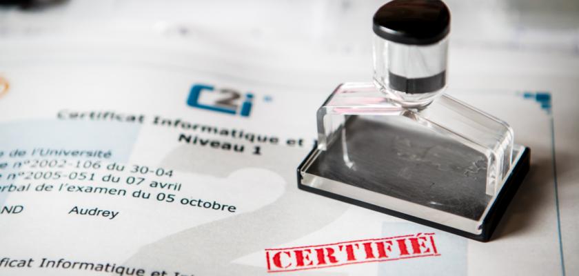 u00c9tudiants certifi u00e9s