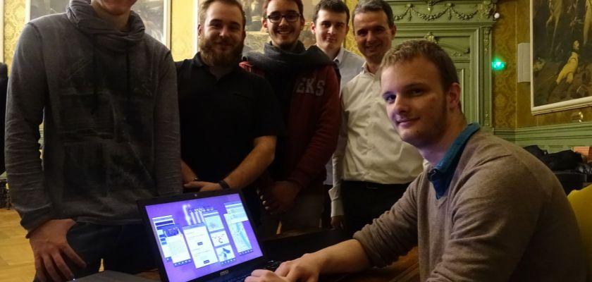 2 équipes de l'IUT de Belfort-Montbéliard récompensées au hackathon FIMU