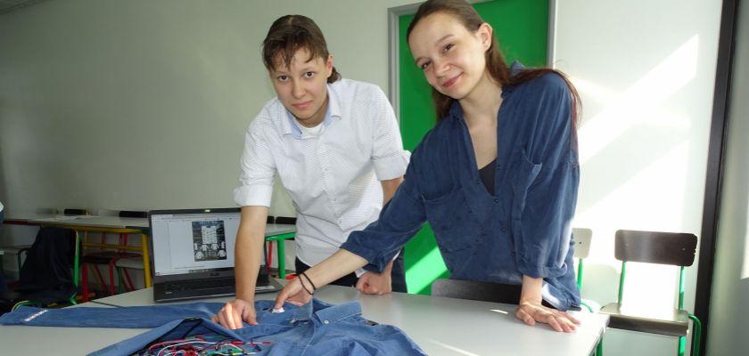 A l'IUT de Belfort-Montbéliard, en DUT Mesures physiques, même les vêtements sont branchés !