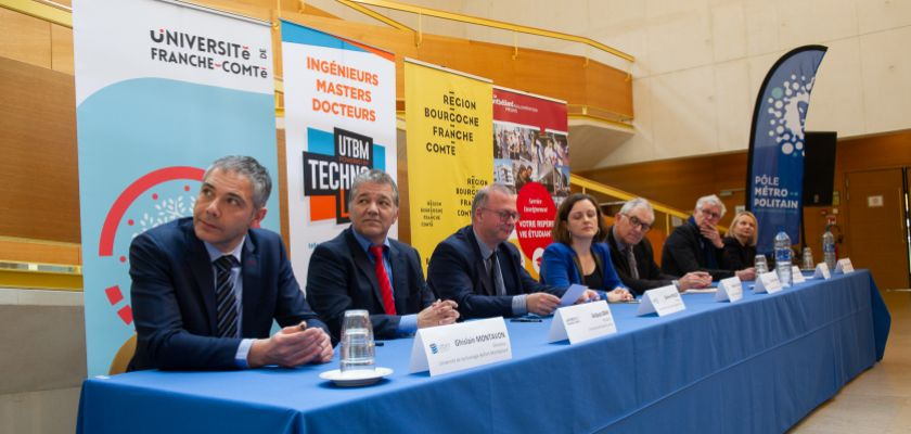 Signature du partenariat territorial pour la constitution du Campus métropolitain Belfort-Montbéliard