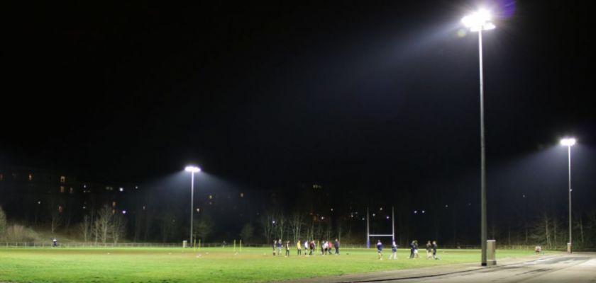 éclairage U-Sports