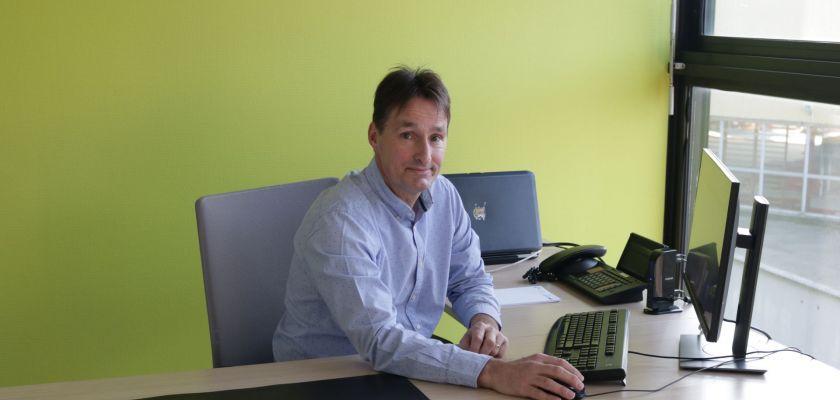 Vicent Peseux, directeur de l'UPFR des Sports