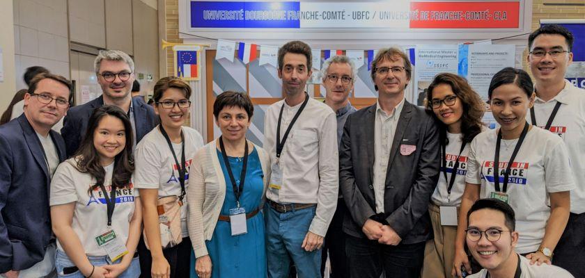 Une délégation de l'Université de Franche-Comté en Asie du Sud-Est