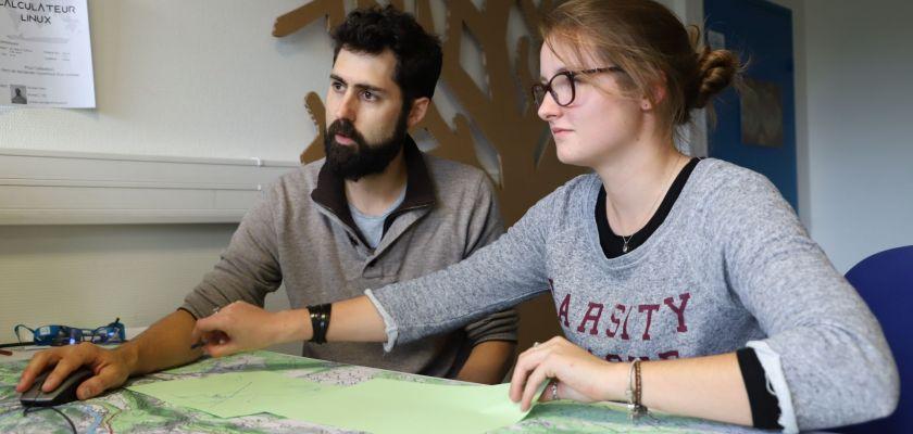 étudiants CMI géologie appliquée