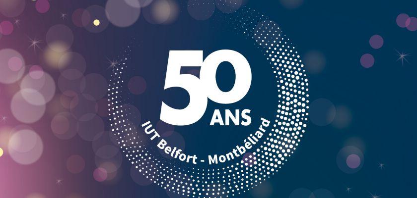 50 ans de l'IUT de Belfort-Montbéliard : plus d'un an de festivités !