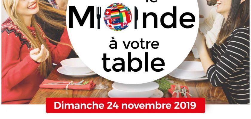 Invitez le monde à votre table