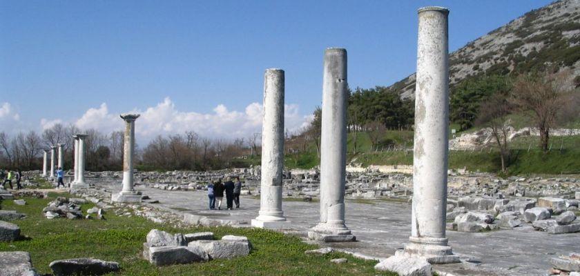 Agora et Acropole de Philippe