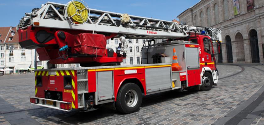 Pompiers connect s pour plus de s curit l 39 actu de l - Image camion pompier ...