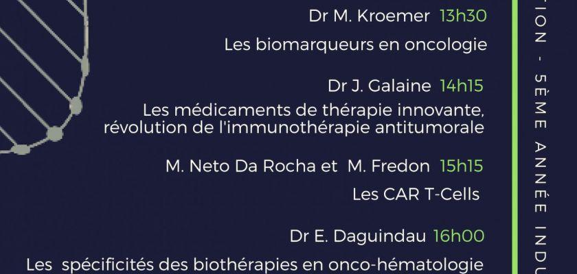 séminaire biotechnologie