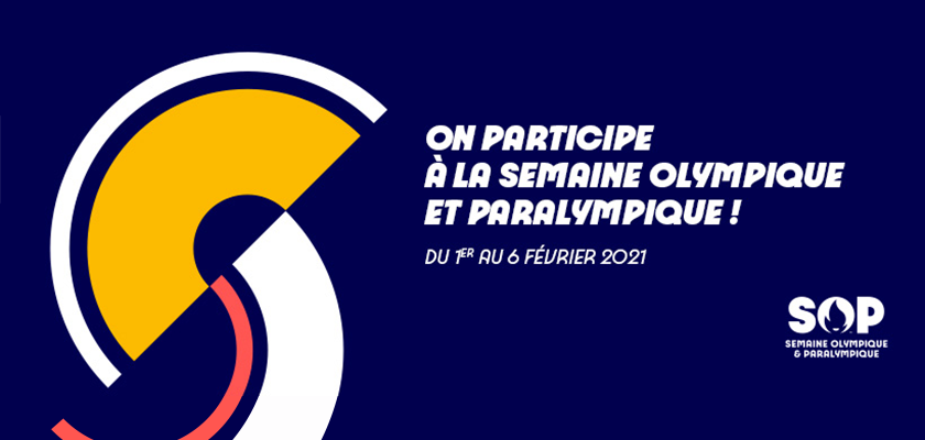 L'université de Franche-Comté participe à la Semaine olympique et paralympique !