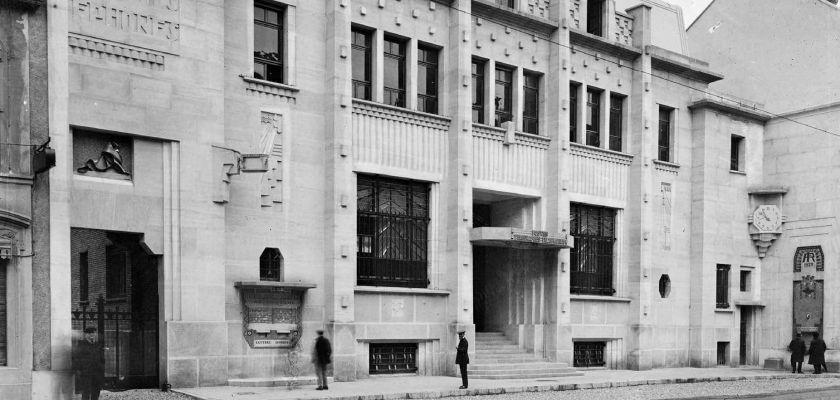 hôtel des Postes de Belfort en 1929