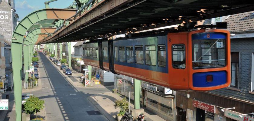 Le métro aérien de Wupperthal