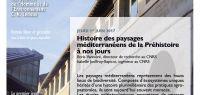 Affiche conférence B. Vannière et I. Jouffroy-Bapicot, cycle Les jeudis de la MSHE