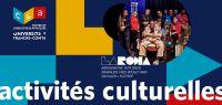 programme activités culturelles CLA octobre 2019