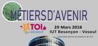 Affiche journée métiers de l'entreprise et de la digitalisation