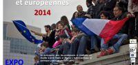 jeunes avec un drapeau français
