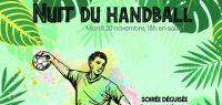 Affiche nuit du handball