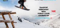 affiche campus sports ski samoens 2-3 février