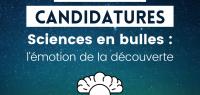 """Appel à candidatures doctorants - BD """"Sciences en bulles"""""""