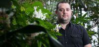 Arnaud Mouly, directeur du Jardin botanique de Besançon