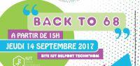 L'IUT de Belfort-Montbéliard fête ses 50 ans: Back to 68 le 14 semptembre 2017