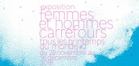 Affiche femmes et hommes carrefours