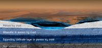 Représentation modélisée du sous-sol de Titan.