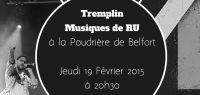 Affiche tremplin musiques de RU