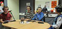 L'étudiant et les élèves interrogés par Radio Campus